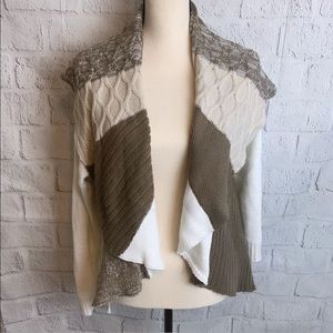 Style & Co Color Block Cardigan